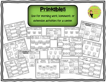 Counting Center: Spring Plants Garden, Differentiated