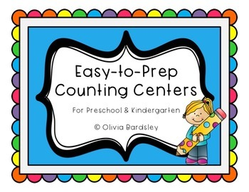 Counting Centers: Easy to Prep in B&W and Color