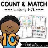 Number Sense Activities Numbers 1-20