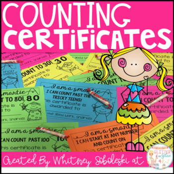 "Counting Certificates For Your ""Smarties"""