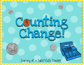 Counting Change Math Activities