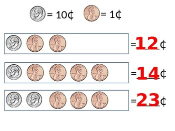 Counting Change Printable Booklet and PowerPoint
