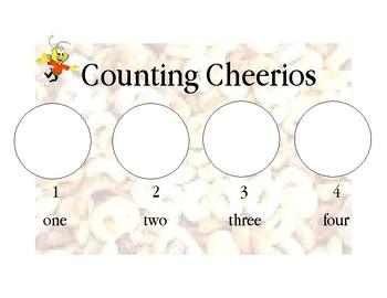 Counting Cheerios Graph PreK