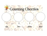 Counting Cheerios Graph PreK