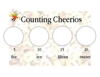 Counting Cheerios by 5's