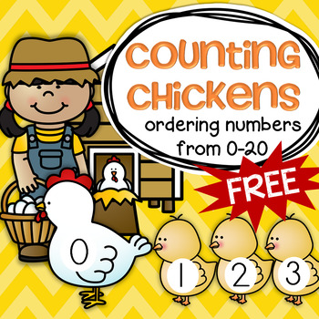 FARM Counting Chickens 0-20 FREE