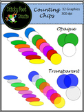 Counting Chips Clip Art - Opaque and Transparent