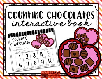 Counting Chocolates Interactive Book