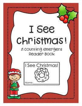 Counting Christmas: A Preschool Reader Book
