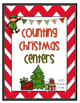 Counting Christmas Centers 0-20