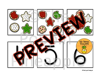 Counting Christmas Cookies