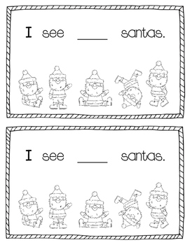 Counting Christmas Emergent Reader