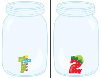 Counting Christmas Jars