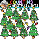 Counting Christmas Lights Clipart {Christmas Clipart}