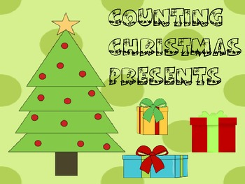 Interactive Counting Christmas Present Notebook