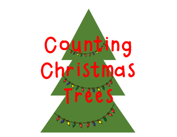 Counting Christmas Tree Math Center