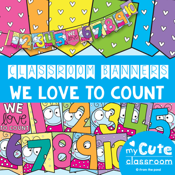 Counting Classroom Banner Pack