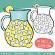 Counting Clip Art 0-20: Lemonade