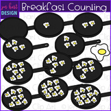 Counting Clip Art - Breakfast  Fried Eggs Counting {jen ha
