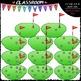 Counting Clip Art & B&W Bundle 3 (6 Sets)