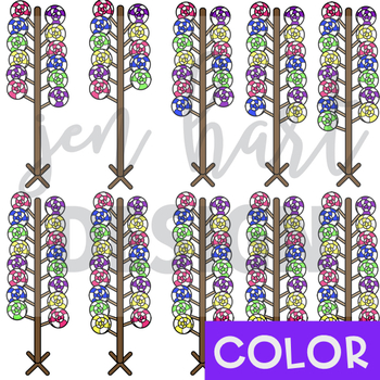 Counting Clip Art -Counting Lollipops {jen hart Clip Art}