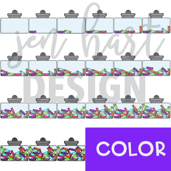 Counting Clip Art -Counting Rolls {jen hart Clip Art}