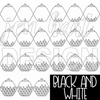Counting Clip Art -Counting Wrapped Chocolates {jen hart Clip Art}