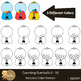 Counting Clip Art : GumBalls