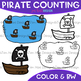 Counting Clip Art - Pirate Counting {jen hart Clip Art}