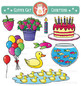 Counting Clip Art Variety Pack: 1-10
