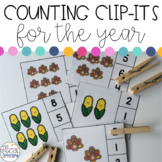 Counting Clip-Its for the YEAR!