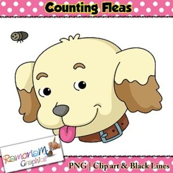 Flea Counting Clip art