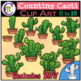 Counting Clipart Cactus