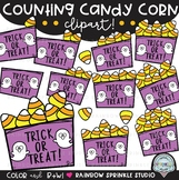Counting Clipart: Candy Corn {candy corn clipart}