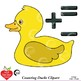 Counting Clipart, Colored Duck Clipart, Math Manipulatives, AMB-2249