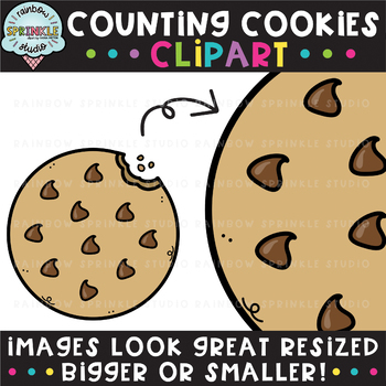 Counting Clipart: Cookies {cookie clipart}