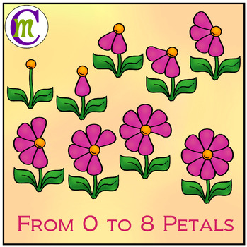 Counting Clipart Flowers