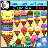 Counting Clipart Ice Cream