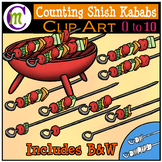Counting Clipart Shish Kababs