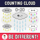 Counting Cloud Clipart