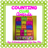 Counting Club Awards