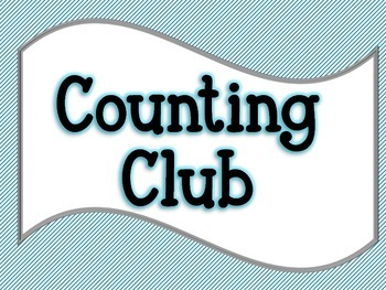 Counting Club - Poster
