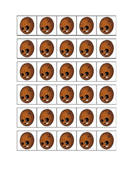 Counting Coconuts: Common Core Counting With Numbers 0-20 {free}