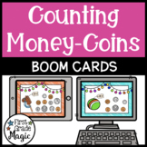 Counting Coin Combinations Boom Cards
