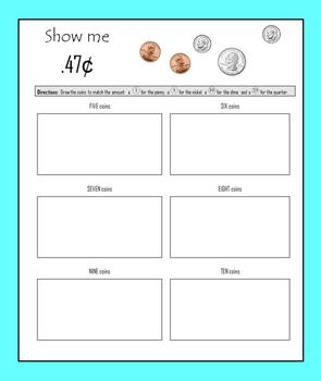 Money:  Counting Coins