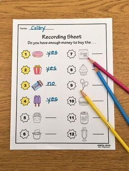 Counting Coins - Printables, Task Cards, Puzzles, & Game