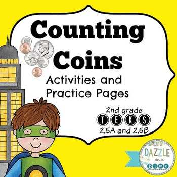 Counting Coins - 2nd Grade