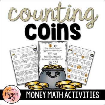 Counting Coins Money Activities