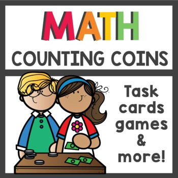 Counting Coins Money Unit Activities and Worksheets