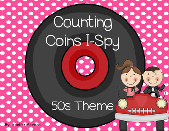 Counting Coins-50s Theme